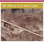 Opens a 1.5Mb PDF map - Southeast 30th St to 4 Mile Creek